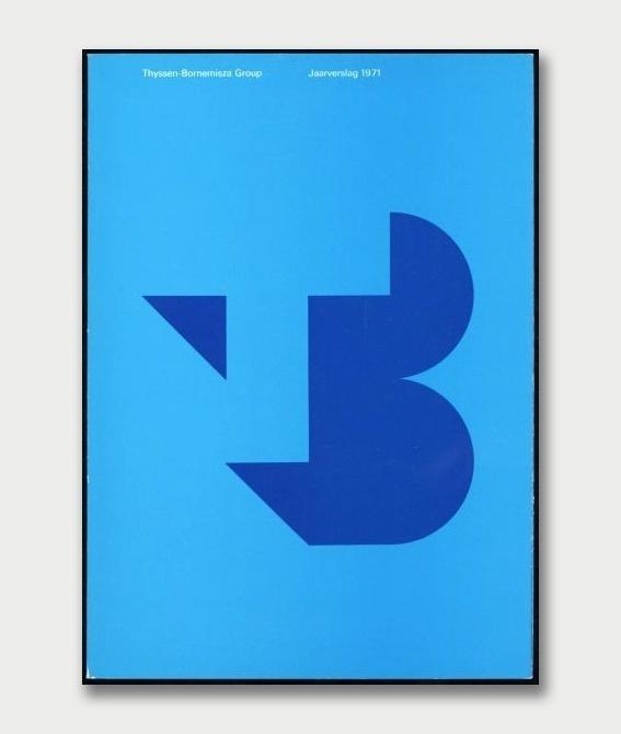 Thyssen Bornemisza Group: Jaarverslagen 1971 | Annual ReportBenno Wissing & Hartmut Kowalke / Total Design, 1971 75 #design