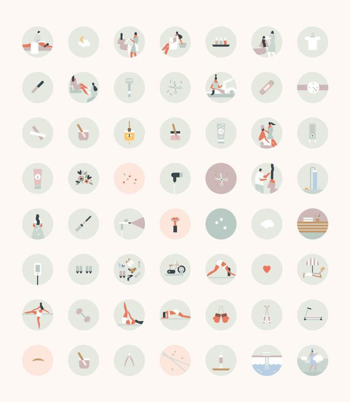Lotta Nieminen | Beautified #icon #picto #illustration #minimal