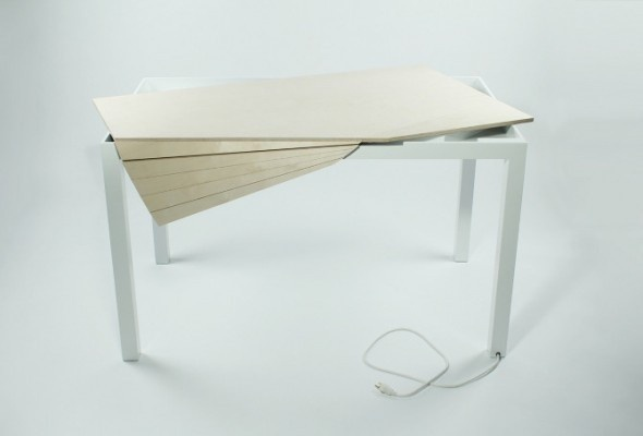 Tambour Table in defringe.com