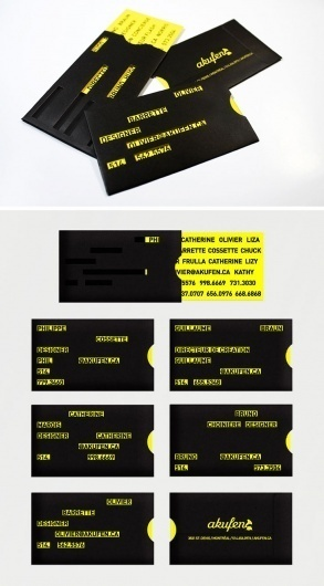 Business Cards. itevenhasawatermark.com » Akufen #creative #business #branding #design #akufen #identity #cards #typography