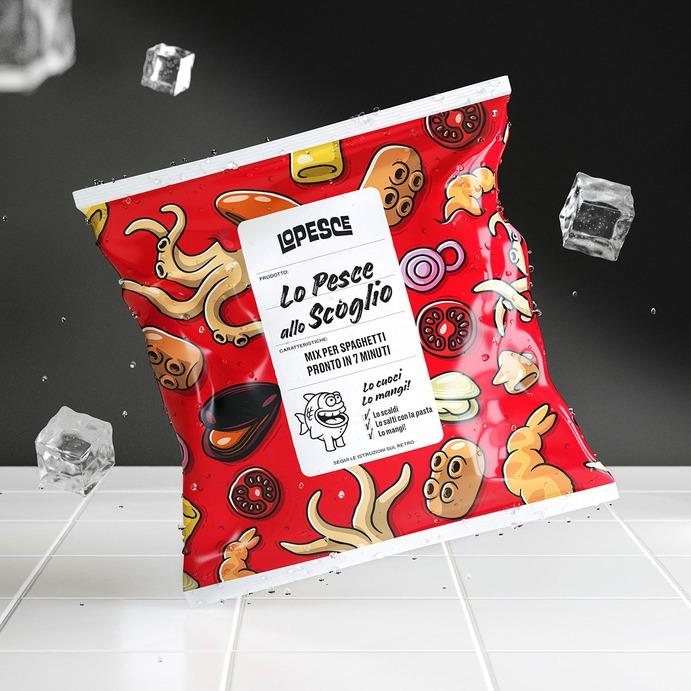 Lo Pesce Branding & Packaging - Mindsparkle Mag