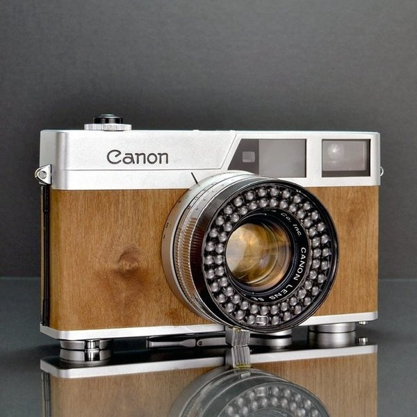 Fancy Canonet Mansonia #camera #canon #analog