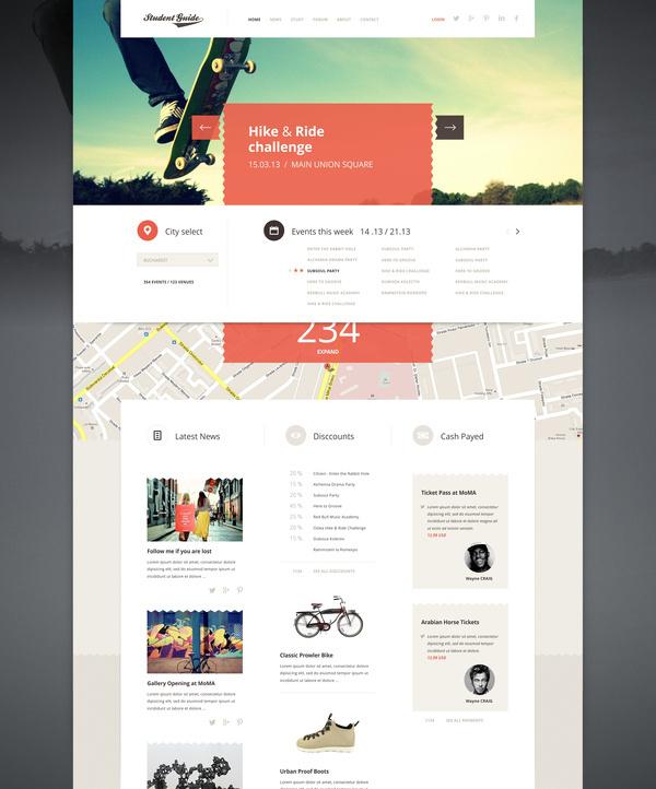 Student_guide_a_lot_bigger #subtle #geometric #website #minimalist #web