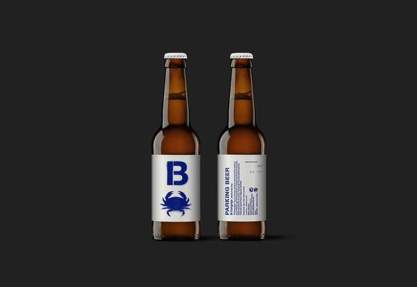 Parking Beer #beer #packaging #design #label #package