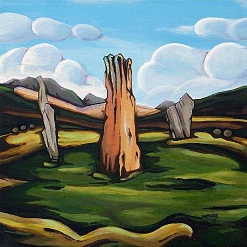 machrie-moor.jpg 500×500 pixels #arran #stones #machrie #ancient #scotland #standing
