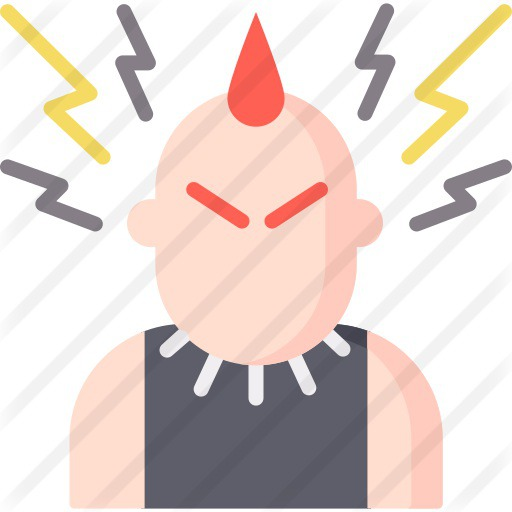 See more icon inspiration related to alternative, punk, urban, concert, style, user and social on Flaticon.