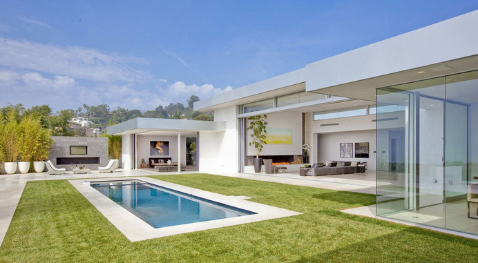 Stunning Beverly Hills House Designed by DJ Avicii's House Architects #architecture