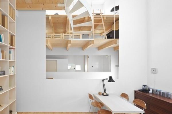 Case House11 #interior #design #decor #desk #deco #stairs #decoration