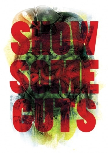 Show some guts | Advice to Sink in Slowly #advice #sink #luke #in #slowly #tonge #poster #to