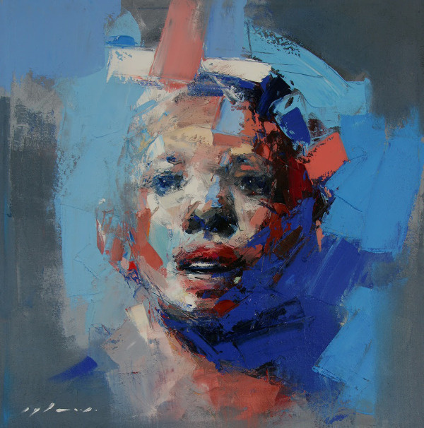Ryan Hewett | PICDIT #design #portrait #painting #art #artist