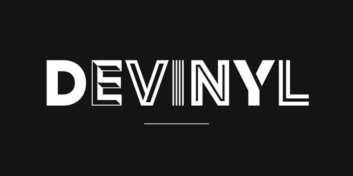 My Fonts Devinyl Logo