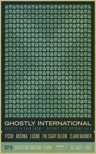 ISO50 Scott Hansen Ghostly Print #international #tycho #print #design #ghostly #hansen #iso50 #scott