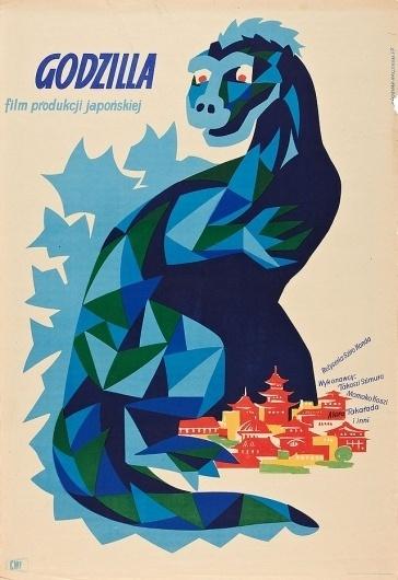 Pink Tentacle #movie #classic #japanese #monster #posters #polan #czech #godzilla
