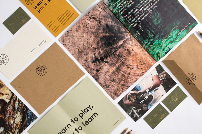 Forest Found brand identity nature natural tree ecological eco branding green brow beautiful minimal mindsparkle mag inspire inspiration www