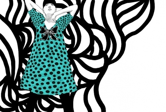 Spiros Halaris Illustration – Illustration inspiration on MONOmoda #fashion #drawing