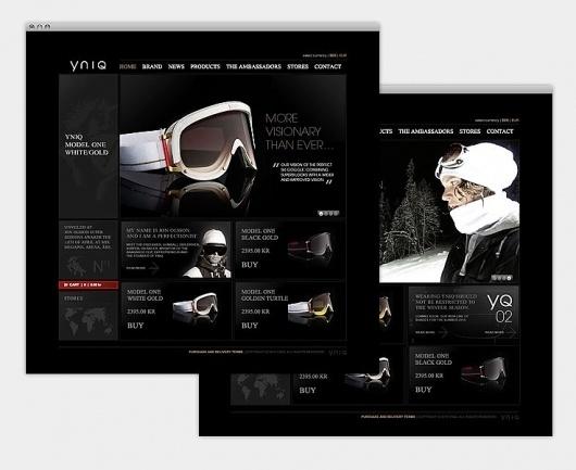 Odear - YNIQ #design #web #goggle