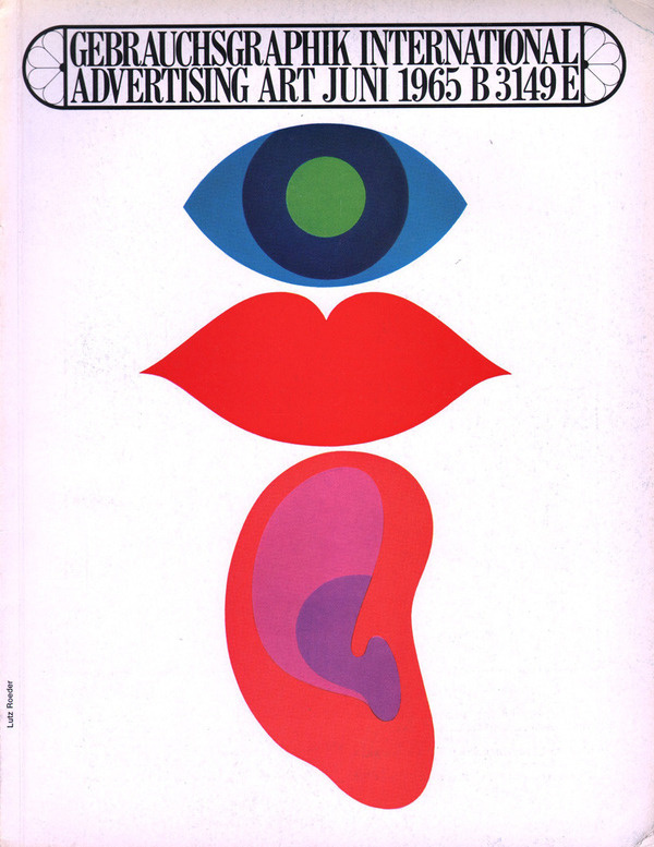 Gebrauchsgraphik in the Sixties 50 Watts #design #graphic #book #cover #illustration