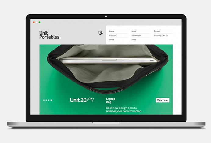Unit Portables by Kurppa Hosk #branding #website