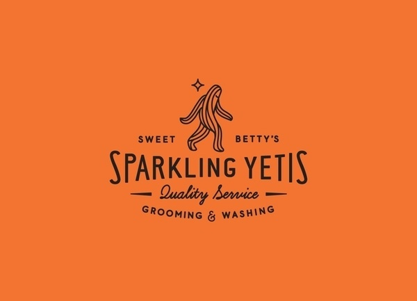 mgjh #sparkling #yeti #logo #ross #typography