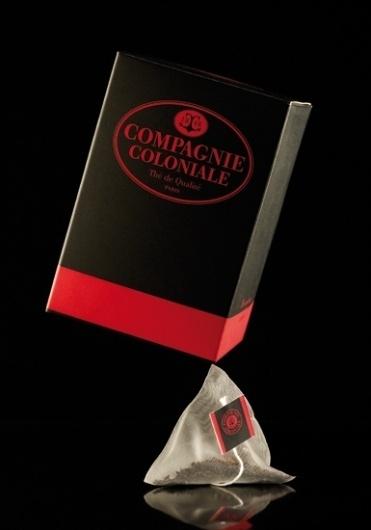 Boites à thé | Pierre-Alexis Delaplace #berlingo #packaging #boite #coloniale #compagnie #tea #sachet