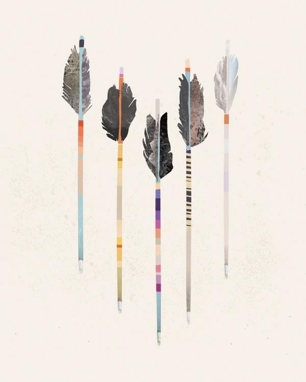 julia kostreva #arrows #kostreva #illustration #julia