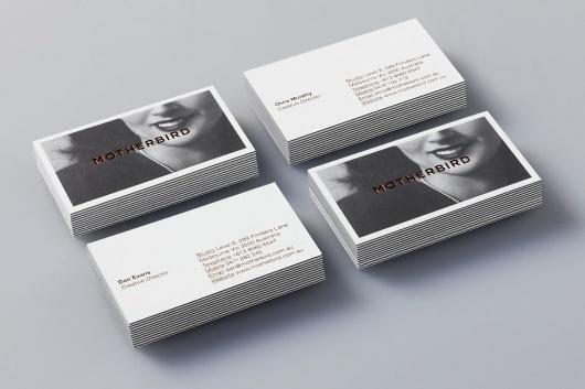Motherbird » Studio Work #gold #mother #cards #business