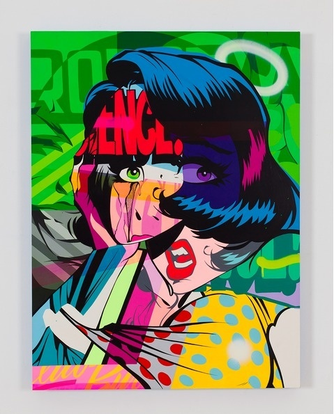 Pose MSK   PICDIT #design #graphic #color #comic #painting #art #colour
