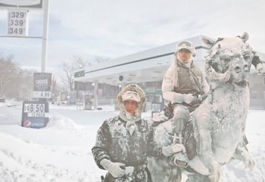 POTD: New York City Is Turning Into Hoth New York City Blizzard Hoth – /Film #in #sohoth #wars #tauntauns #star #nyc #hoth
