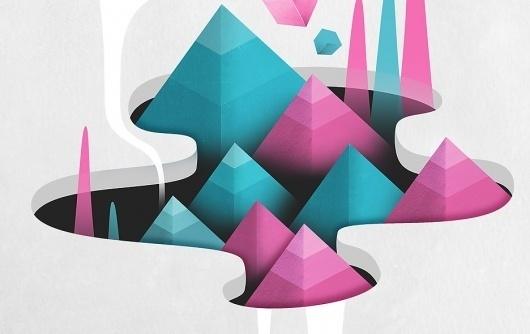 Abysses : Illustrations personnelles. Graphiste freelance àStrasbourg – Mathieu Clauss #ilustration
