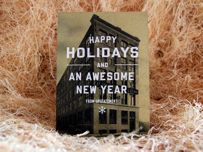 Dribbble bric a brac 4 #halftone #holiday #typography
