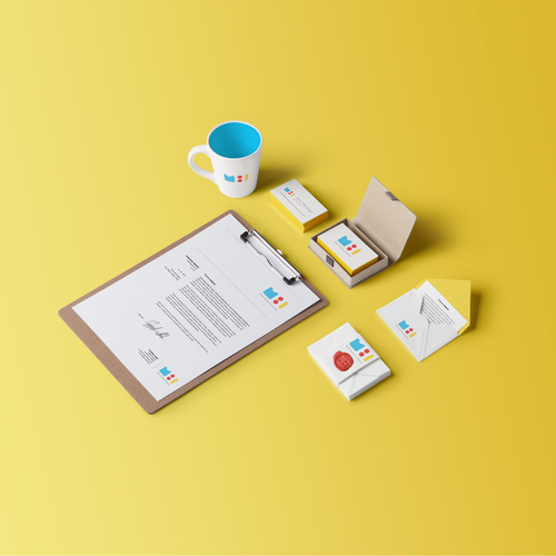 Mister Bumbles Interactive Branding by Amrit Pal Singh #branding #business #card #design #graphic #brand #identity #stationery #logo