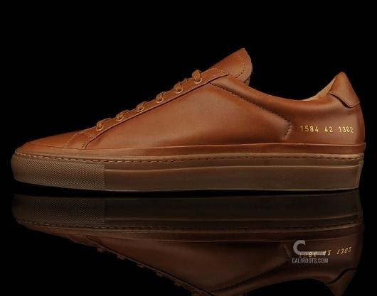Common Projects Premium Achilles (1584 1302) - Caliroots.com #projects #common #leather #shoe