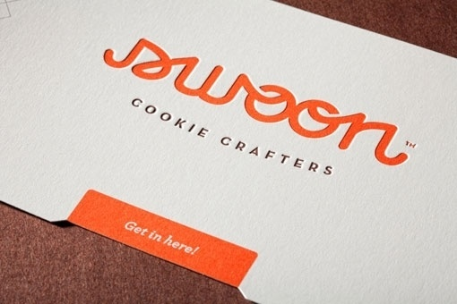design work life » cataloging inspiration daily #logo #swoon #cookie
