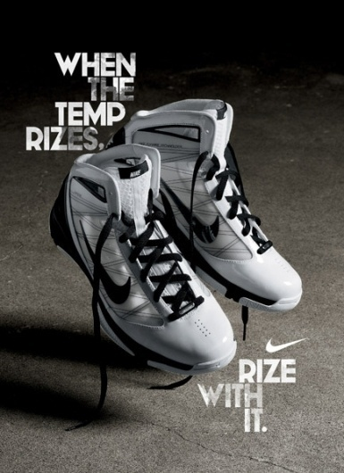 Hugo & Marie — Creative Direction & Artist Management #advertising #shoes #basketball #typography
