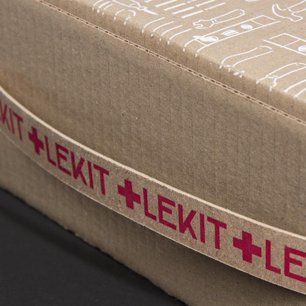 Le KIT #branding #packaging #box #wood #tool #menuiserie #carpentry #kit #le #carpenter