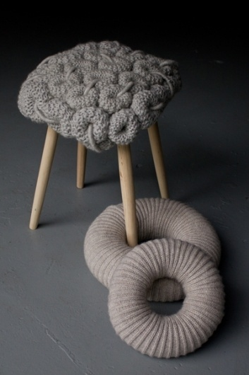 Claire O´Brian | Neue Hand(arbeit) #claire #furniture #knitting #obrian