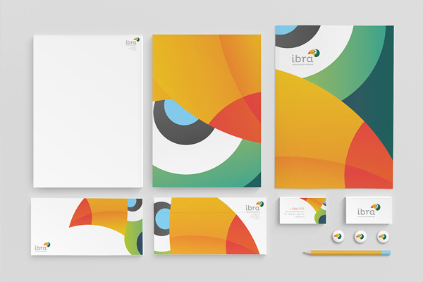 IBRA on Behance #identity #stationery