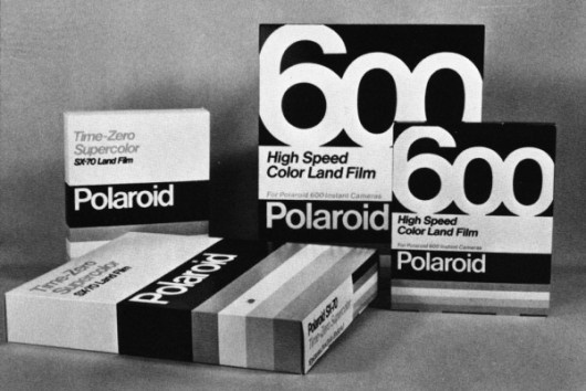 1980s Vintage Packaging Collection #packaging #polaroid #vintage #film