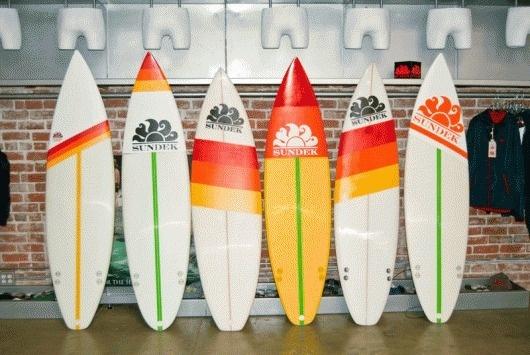 Sundek Surfboard Graphix : Adrineh Asadurian #sundek #surf #custom #graphics #surfboard