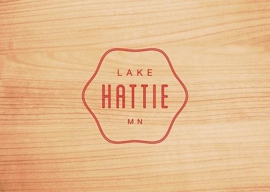 Branding 10,000 Lakes #lake #logo #hattie