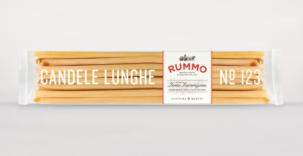 Rummo designed by Irving #packaging #logo #pasta #identity