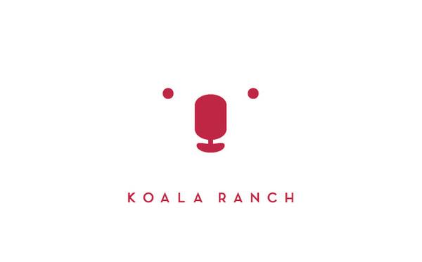 koala ranch logo #logo #design
