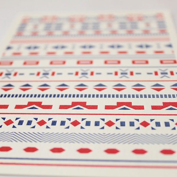 African inspired cards #pattern #africa #design #tribal #south #art