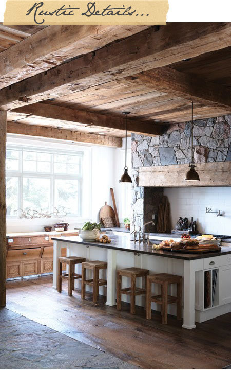 house-and-home #rustic #kitchen #dream #home