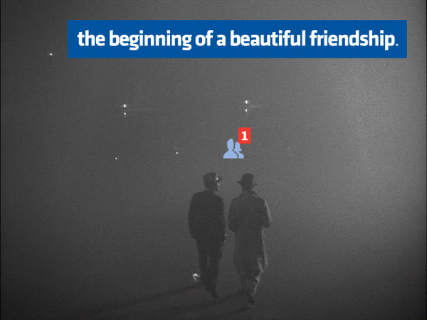 by Viktor Hertz #facebook #friendship #bw #friend