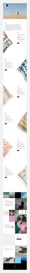 DANIEL KÄLLBOM #space #website #digital #linear #minimal