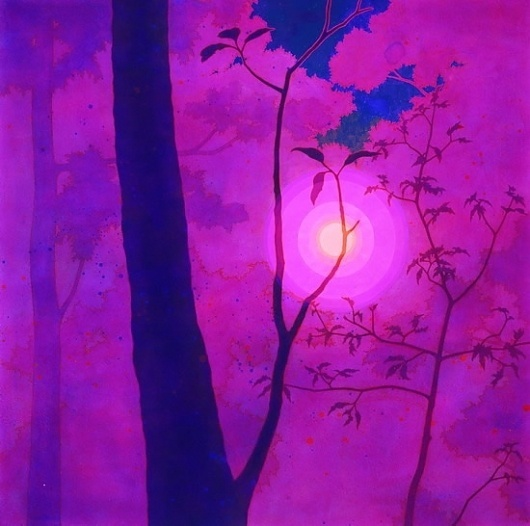 Atsushi Fukui - MICHAEL KU GALLERY #acrylic #atsushi #fukui #painting #art