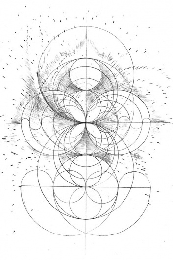 andy gilmore #geometry #white #black #illustration #and #drawing