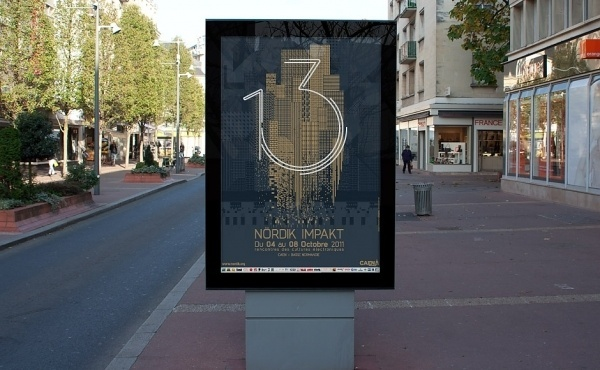 Nördik Impakt 13 – Communication | Murmure – Agence Créative | Agence de communication àCaen #france #print #design #murmure #poster