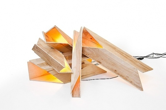 Firewood Lights | #lamp